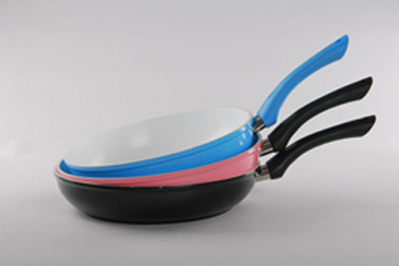 aluminum ceramic coating fry pan